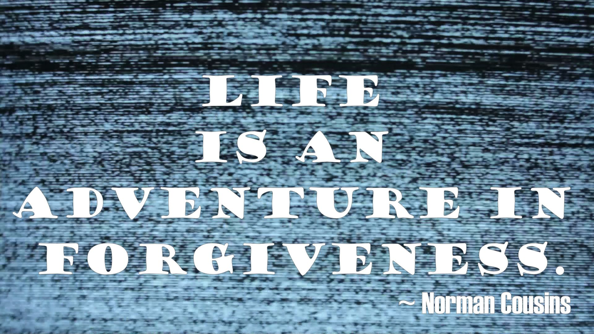 Adventure in Forgiveness