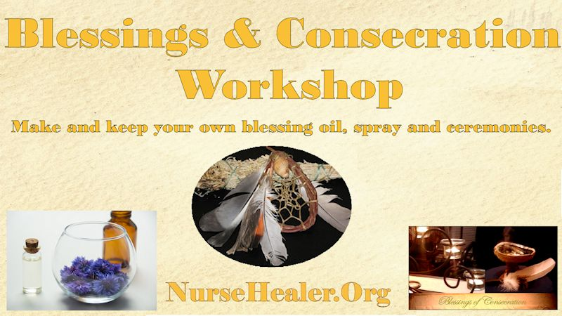 Blessing and Consecration Workshop