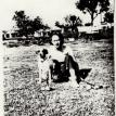 "Dorothy Nell PERRY and dog ""Poodle"""