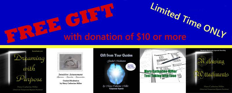 FREE Gift with Donation of $10 or more!