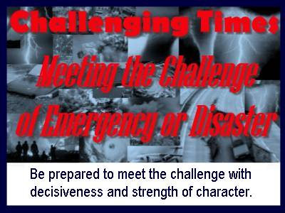 Challenging Times Class