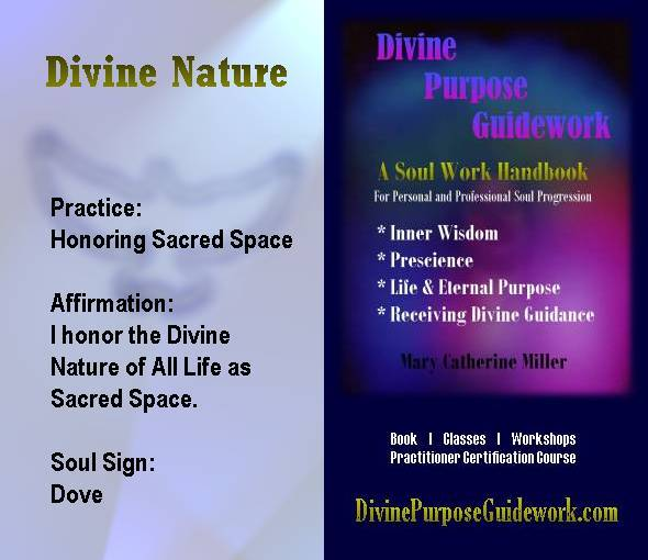 Divine Nature Affirmation Card
