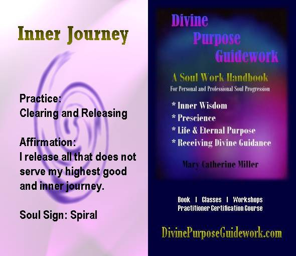 Inner Journey Affirmation Card