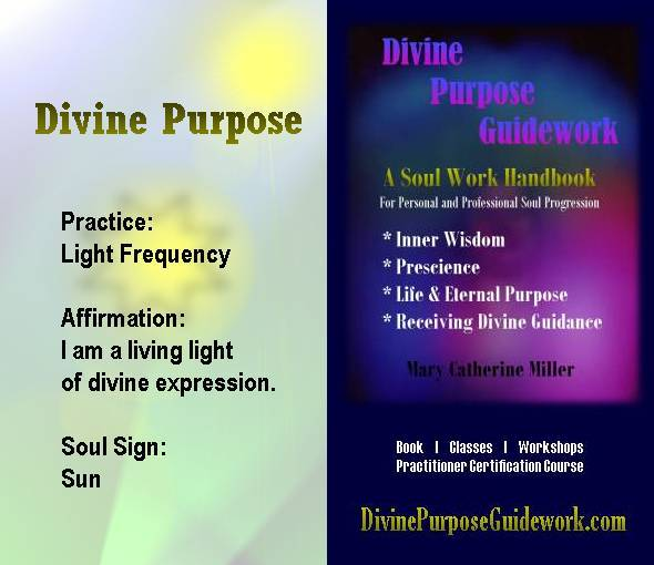 Divine Purpose Affirmation Card