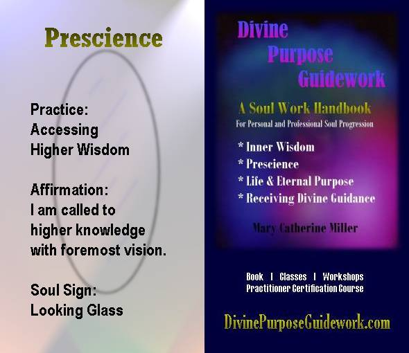 Prescience Affirmation Card