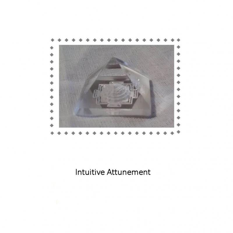 Intuitive Attunement Meditation Disc Face