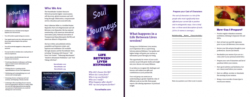 Life Between Lives Brochure