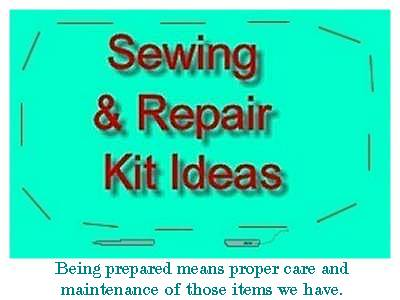 Sewing and Repair Kit Class